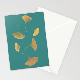 Flying ginkgo Stationery Cards