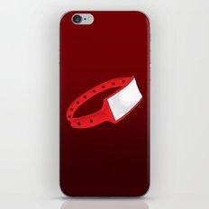 Polsera Vermella iPhone & iPod Skin