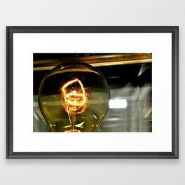 Light Bulb I Framed Art Print
