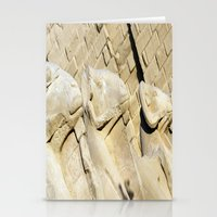 guardians Stationery Cards featuring Temple Guardians by Brian Raggatt