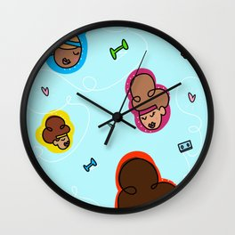 80's Jazzercise Mode Wall Clock