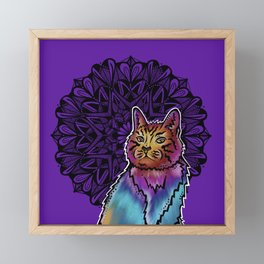 Cat- Catalyst Ranch Framed Mini Art Print