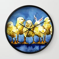 easter Wall Clocks featuring Easter by tsquared91
