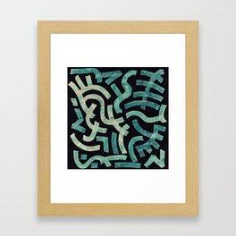 Pattern № 60 Framed Art Print