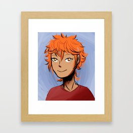 Hinata Shouyou Framed Art Print