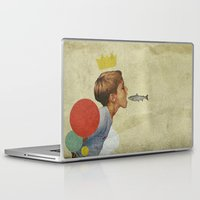 collage Laptop & iPad Skins featuring E.A.T | Collage by Julien Ulvoas