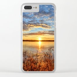 The Ice Over Clear iPhone Case