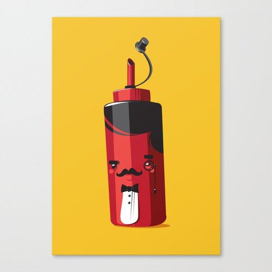 Fancy Ketchup Canvas Print