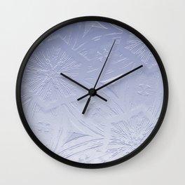 Lavender Hexagon Crystal Wall Clock