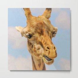 Extraordinary animals-Giraffe Metal Print