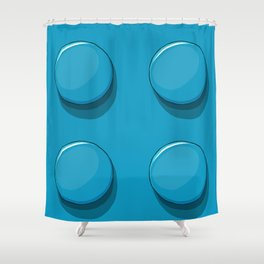 Brique Lego Shower Curtain