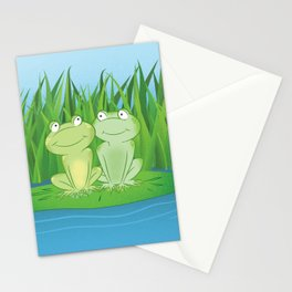 Feeling Froggy Stationery Cards