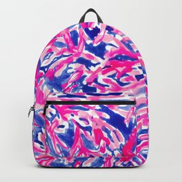 Pink Corals into Ocean Backpack