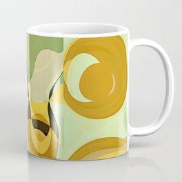 RETRO Mid Century Modern Pattern Abstract Geometric Art by Michel Keck Coffee Mug