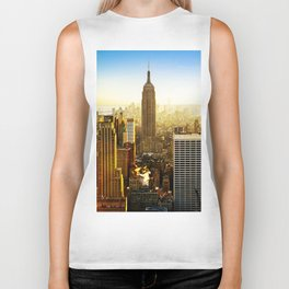 Empire State Building (The City) Biker Tank