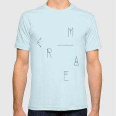 C.R.E.A.M. LARGE Light Blue Mens Fitted Tee