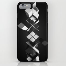 Argyle Deconstruction iPhone Case
