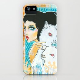 Two and a Lamb iPhone Case