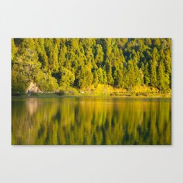 Furnas lake Canvas Print