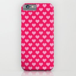 Love Symbol Pattern iPhone Case