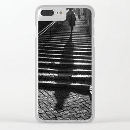 Lisbon Shadow Clear iPhone Case