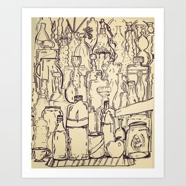 Glass Abundance  Art Print