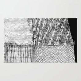 White & Grey Rug