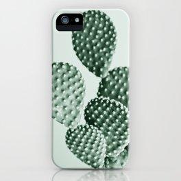 Green Bunny Ears Cactus  iPhone Case