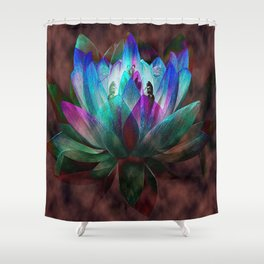 Lotus Land... Shower Curtain
