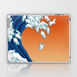Llama Waves Laptop & iPad Skin