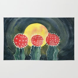 Cactus Moon Grafted Rug