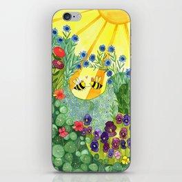Bumblee Bee LOVE iPhone Skin