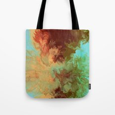 Blue,Yellow, Red Tote Bag
