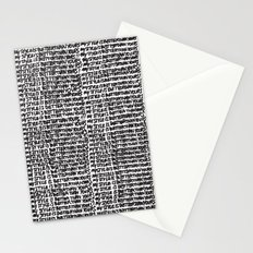 My style is better than yours punition Stationery Cards