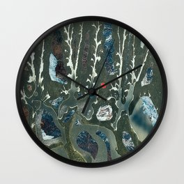 42 cut-outs and 1 cut Wall Clock
