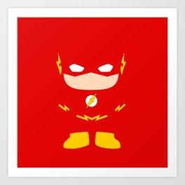Flash! Art Print