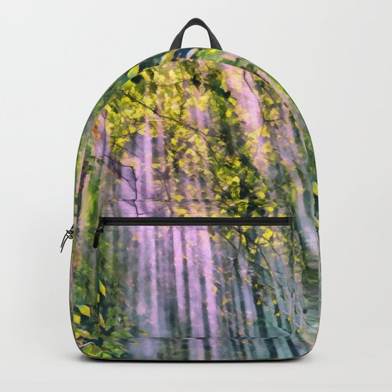 Forest light Backpack
