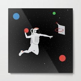NBA Space 1 Metal Print