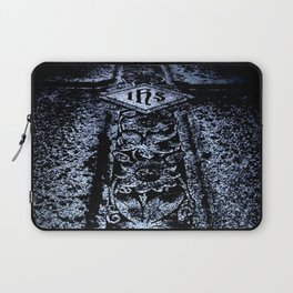 Sturm Gothic into the Darkness Cross Laptop Sleeve