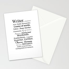Writer Stationery Cards
