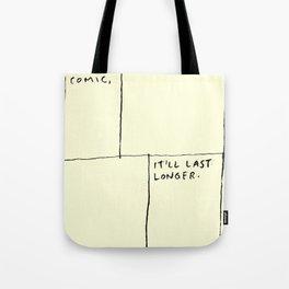 Make A Comic Tote Bag