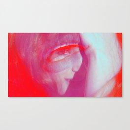 Linda Scott's Minty Eye Canvas Print