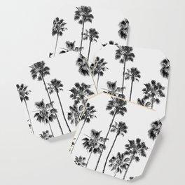 Black & White Palms 3 Coaster
