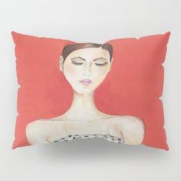 Portrait of a Model Woman Pillow Sham