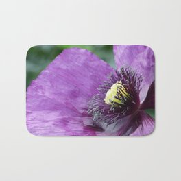 Purple Poppy / Violet Bath Mat