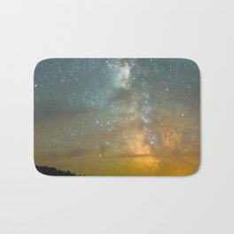 Milky Way Galaxy in Manitoba Bath Mat