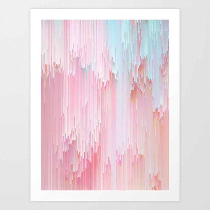 Sweet Glitches Art Print