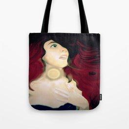 Realistic Portrait, Ariel Tote Bag