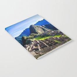 Machu Picchu First Light Notebook