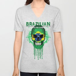 To The Core Collection: Brazil Unisex V-Neck